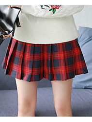cheap -Women's Skirt Skirts - Plaid/Check, Print