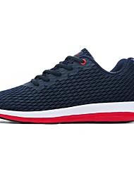 abordables -Homme Chaussures Tulle / Maille Printemps / Automne Confort Chaussures d'Athlétisme Course à Pied Noir / Gris / Bleu