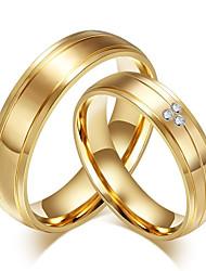 Недорогие -ювелирные изделия из металлической элегантной металлической стали для мужчин и женщин