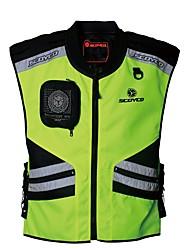 мужчины мотоцикл жилет отражающей безопасности ночной одежды защитный чехол для мотоспорта