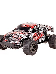 cheap -RC Car 2811 2.4G SUV 4WD High Speed Drift Car Racing Car Buggy (Off-road) 1:20 * KM/H Remote Control / RC Rechargeable Electric