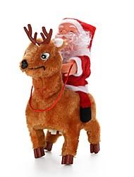 abordables -Cadeaux de noël Jouets de Noël Décorations d'arbre de noël Jouets Costumes de père noël Animal Vacances Vacances Design nouveau Plastique