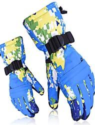 Недорогие -Лыжные рукавицы Универсальные Полный палец Сохраняет тепло Катание на лыжах Зима