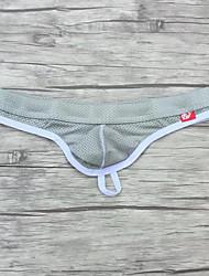 Недорогие -мужской полиэстер / spandex g-string дышащий удобный мягкий