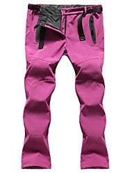 cheap -Women's Hiking Pants Outdoor Waterproof Thermal / Warm Windproof Fleece Lining Insulated Rain-Proof Winter Fleece Pants / Trousers Skiing