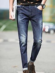 cheap -Men's Pants Jeans Pants - Solid Colored