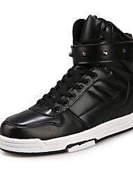 economico -Da uomo Scarpe A maglia PU sintetico Tulle Inverno Estate Comoda Sneakers Perline Per Casual Bianco Nero Bianco/nero