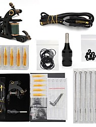 economico -kit tatuaggio 1 green coil tattoo machine 1 grip e altri accessori tattoo machine