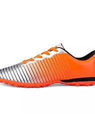 Недорогие -Муж. обувь Полиуретан Весна / Осень Удобная обувь Спортивная обувь Voetbal Оранжевый / Темно-синий / Черно-белый