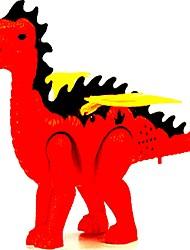 economico -Kit per costruzioni Giocattoli tirannosauro Dinosauro Animali Elettrico Dinosauro Classico Silicone Plastica + PCB + Acqua di copertura