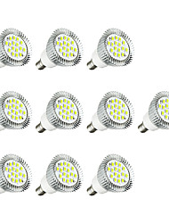 cheap -10pcs 3W E14 LED Spotlight E14/E12 16 leds SMD 5630 LED Lights Warm White White 260-300lm 3000-3500/6000-6500K AC 220-240V