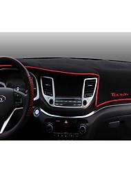 Automotive Dashboard Mat Car Interior Mats For Hyundai 2015 2016 2017 New Tucson Carbon Fiber