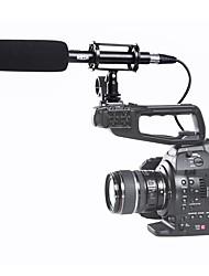 BOYA PAR PVM1000 BY-PVM1000 Condenseur Shotgun Vido/entrevue Microphone pour Canon Nikon Sony DSLR Camra avec Pare-Brise Libre