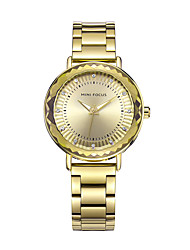 cheap -Women's Wrist watch Fashion Watch Casual Watch Quartz Imitation Diamond Metal Stainless Steel Band