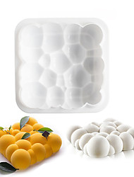 Silicone Cloud Shaped Mousse Cake Mold Dessert Baking Mould Decorating Tools Kitchen Bakeware Supplies