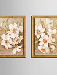 economico -Botanica Floreale/Botanical Paesaggio Tele con cornice Set con cornice Decorazioni da parete,PVC Materiale con cornice For Decorazioni