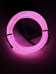 baratos -BRELONG® 2m Cordões de Luzes 0 LEDs Branco / Vermelho / Azul <5 V 1pç