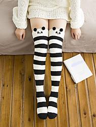 cheap -Women's Ultra Warm Stockings-Animal