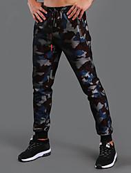 economico -Per uomo Pantaloni da corsa Pantalone/Sovrapantaloni Corsa Esercizi di fitness Cotone Terital Nero Rosso Blu S M L XL XXL