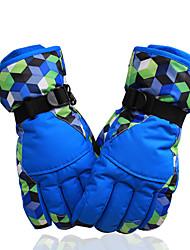 abordables -Guantes de esquí Hombre Mujer Dedos completos Mantiene abrigado Nailon Senderismo Ciclismo / Bicicleta Deportes de Nieve Invierno