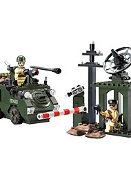 cheap -Building Blocks Tank Toys Tank People Military Non Toxic Classic Warrior Kids Adults' Boys' 187 Pieces