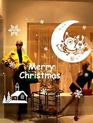 Natal Adesivos de Parede Chá Oolong Autocolantes de Parede Decorativos,Entrelaçado Material Decoração para casa Decalque