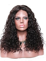 cheap -Virgin Human Hair 360 Frontal Wig Brazilian Hair Loose Wave 360 Frontal 150% Density African American Wig Short Long Women's Human Hair