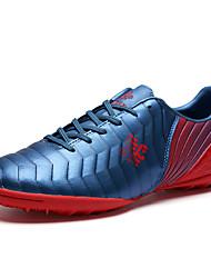 Masculino sapatos Materiais Customizados Primavera Outono Conforto Tênis Futebol Para Atlético Laranja Cinzento Vermelho Azul