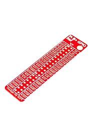 cheap -Raspberry Pi B GPIO Reference Plate Exclusive Accessories 40 Stitches