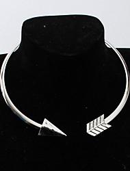 женские колье ожерелья сплав панк персонализированные ювелирные изделия для повседневных повседневных