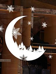 Недорогие -Отдых Наклейки Коробки для сувениров Декоративные наклейки на стены,Нетканая материал Украшение дома Наклейка на стену