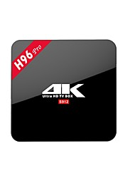 abordables -H96 PRO Android 7.1 Box TV Amlogic S912 Octa Core 2GB RAM 16GB ROM Octa Core
