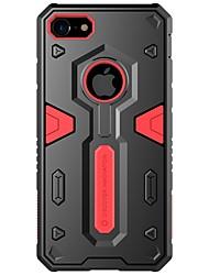 Недорогие -Кейс для Назначение iPhone 7 Plus IPhone 7 Apple iPhone 8 iPhone 7 Защита от удара Кейс на заднюю панель броня Твердый ПК для iPhone 8