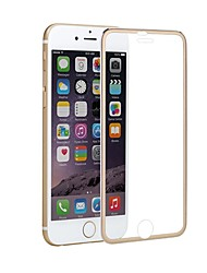 Недорогие -AppleScreen ProtectoriPhone 8 Зеркальная поверхность Защитная пленка 1 ед. Закаленное стекло
