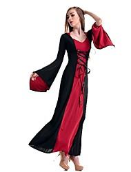 Lolita Classica e Tradizionale Principessa Elegant Ispirazione Vintage Donna Un Pezzo Vestiti Costumi Cosplay Stile Carnevale di Venezia
