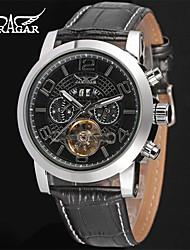 Недорогие -Jaragar Муж. Наручные часы Нарядные часы Модные часы Повседневные часы С автоподзаводом Календарь Кожа Группа На каждый день Cool