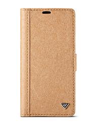 abordables -Funda Para Apple iPhone X iPhone 8 con Soporte Flip Manualidades Funda de Cuerpo Entero Color sólido Dura De madera para iPhone X iPhone