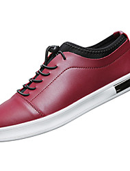 cheap -Men's Shoes Fall Comfort Sneakers for Outdoor White Black Wine