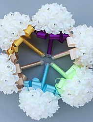 cheap -Wedding Flowers Bouquets Wedding Foam 7.09(Approx.18cm) Wedding Accessories