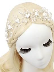 abordables -serre-tête de perle d'imitation de cristal 1pc casque de style féminin classique