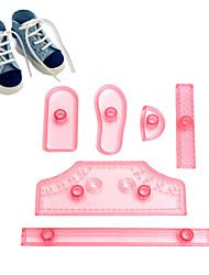 Недорогие -Инструменты для выпечки Пластик Инструмент выпечки Повседневное использование Формы для пирожных 1 комплект