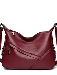 cheap -Women Bags PU Crossbody Bag Zipper for Office & Career All Season Blue Black Purple Wine