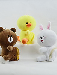 cheap -Stuffed Animal Plush Toy Animal Teddy Bear Animals Wedding Duck Chicken & Chick Rabbit Decorative Animals Animal Design Lovely Adorable