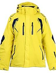 cheap -Men's Ski Jacket Warm Waterproof Windproof Wearable Breathability Lightweight Skiing Hiking Multisport Ski/Snowboarding Cotton Polyster
