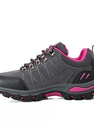 Недорогие -Жен. Обувь Полиуретан Весна / Осень Удобная обувь Спортивная обувь Для пешеходного туризма Круглый носок Серый / Лиловый / Пурпурный