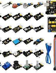 Sensor Kit for Aduino Starter with UNOShield V5SensorsDupont CablePDF