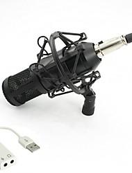 baratos -KEBTYVOR BM800 Com Fio Microfone Conjunto Microfone Condensador Microfone Portátil Para PC
