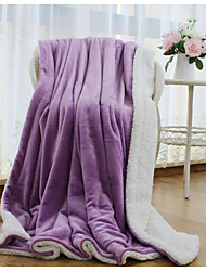 Super Soft,Solid Creative 100% Polyester Blankets
