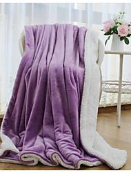Супер мягкий,Сплошная Креатив 100% полиэстер одеяла