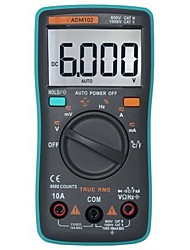 cheap -ZT102 Digital Multimeter 6000 Counts Auto Range-  GREEN